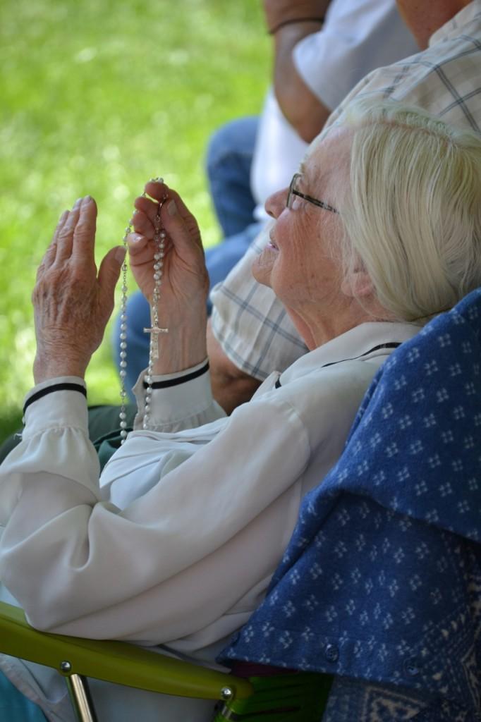 Living Rosary 2014 Lansing